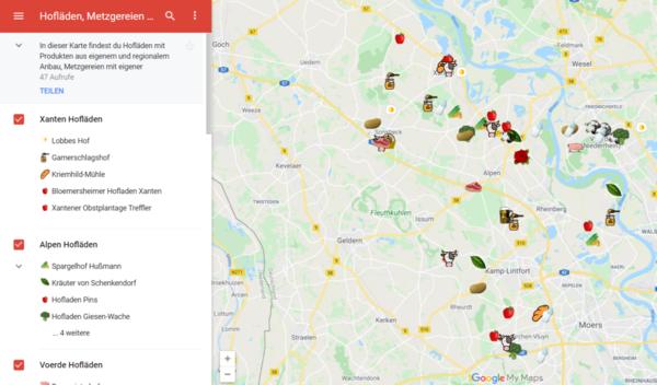Mindestens 58 Regionalvermarkter gibt's in meinem Wahlkreis.