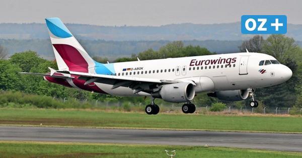 2021: Mit dem Flieger von Luxemburg nach Usedom