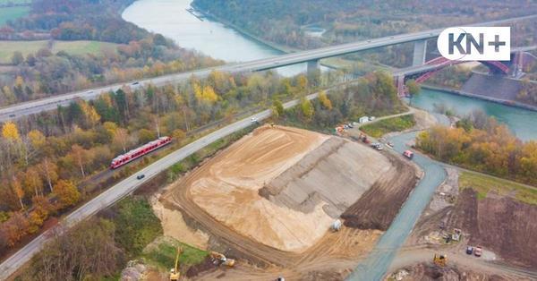 Mount Levensau: Ein Berg für die neue Levensauer Hochbrücke
