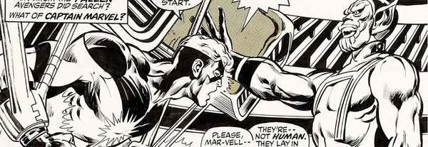 Neal Adams - Avengers Original Comic Art
