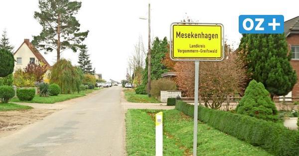 Für mehr Einwohner: Mesekenhagen bei Greifswald plant weitere Bauplätze