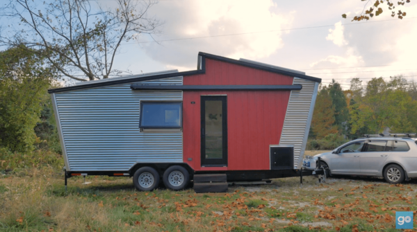 GoSun Debuts the Dream, a Hybrid Solar-Powered Tiny Home