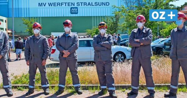Jobabbau bei MV Werften: Wie viele Arbeiter in Stralsund, Wismar und Rostock gehen sollen