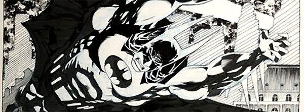 Kelley Jones - Batman Original Art