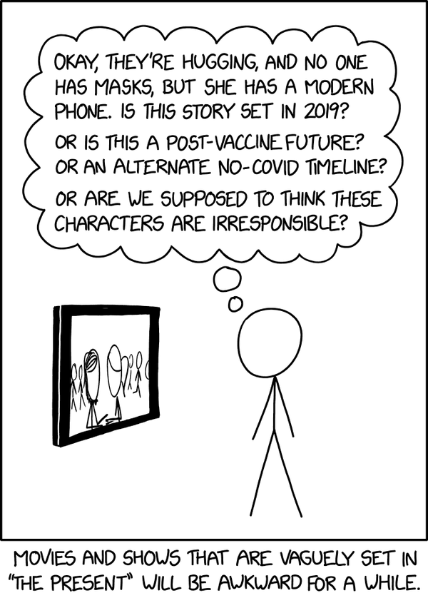 Caricatura por xkcd: https://xkcd.com/2384/