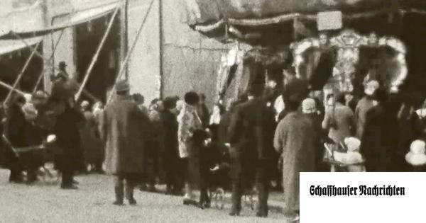 Zeitreise: Wie der Martinimarkt vor fast 100 Jahren aussah