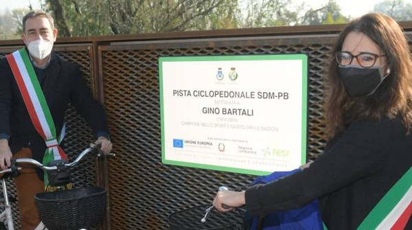 San Donato-Peschiera Borromeo in bici: ora il sogno è realtà