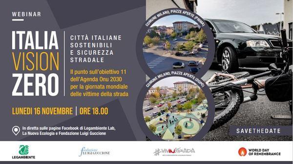 #WDoR2020. Giornata Mondiale in memoria delle vittime della strada. Basta violenza