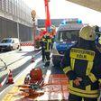 Betonplatte erschlägt Fahrerin auf A3: Ursache weiter unklar