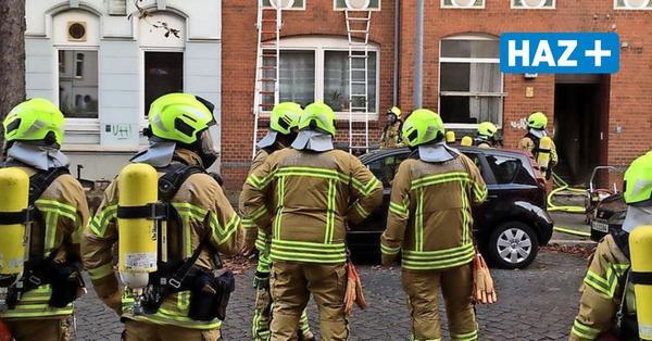 Wieder Feuer in Hannovers Süden: In Döhren brennt der Keller eines Mehrfamilienhauses