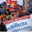 Automobilindustrie: IG Metall Leipzig erstreitet hohes Lohnplus für Transporteure, Staplerfahrer & Co.