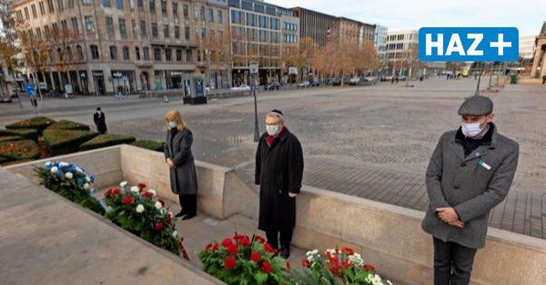 Volkstrauertag 2020 in Hannover: Kranzniederlegung nur im kleinen Kreis