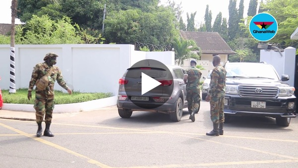 Tight security at Rawlings' house after his death