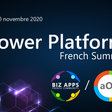 📅 Power Platform French Summit, Wednesday, November 19 and Thursday, November 20.