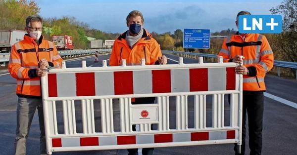 Sanierung beendet: Autobahn 1/A1 bei Ahrensburg ist wieder frei