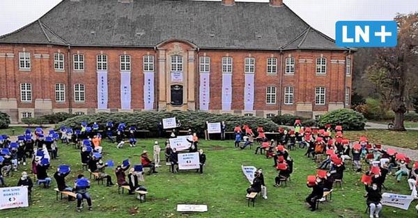 Lungenklinik Borstel droht die Schließung - Mitarbeiter protestieren