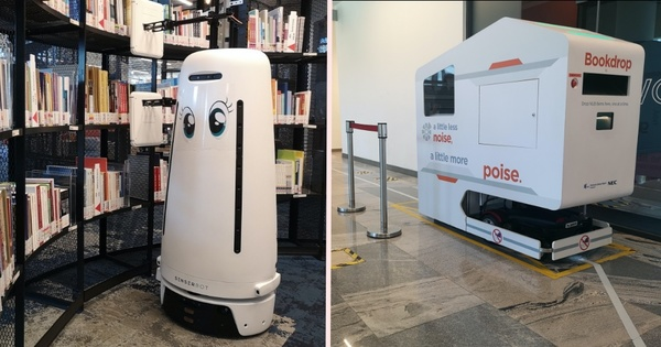 Behind-the-scenes: Robots in S'pore's libraries do the manual work so humans don't have to - Mothership.SG - News from Singapore, Asia and around the world
