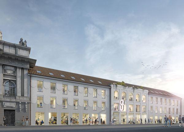 So soll der Neubau an der Seelenbinder-Straße aussehen. Simulation: Architekturbüro Michels