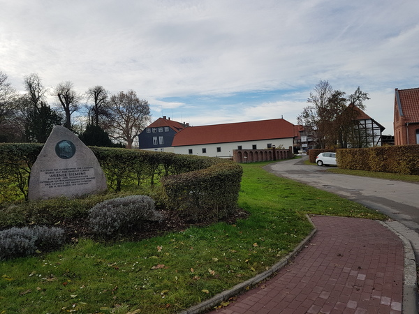 In Lenthe: Das Geburtshaus von Werner von Siemens. (Foto: Bernd Haase)