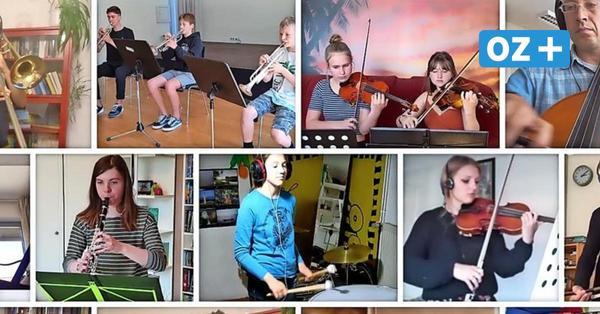 Cooles Video: Stralsunder Musikschüler basteln Clip aus vielen kleinen Stücken
