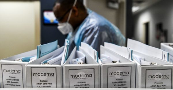 Moderna says its coronavirus vax is more than 90 percent effective
