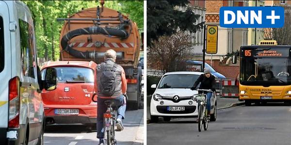 Diese Straßen im Dresdner Süden sind für Radfahrer besonders problematisch