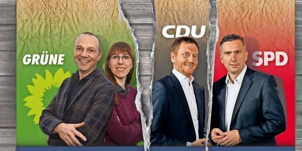 Offenes Zerwürfnis: Bricht die Sachsen-Koalition auseinander?