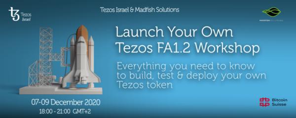Build Your Own Tezos Token Workshop