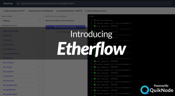 Etherflow Node Testing & RPC Composer Tool