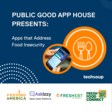 See Public Good App House: Apps that Address Food Insecurity at TechSoup  Virtual Event | November 30th, 2020