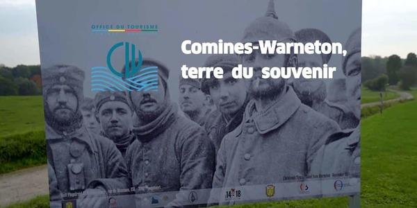 Comines-Warneton: une capsule vidéo pour perpétuer le devoir de mémoire - een video om de herinnering door te zetten