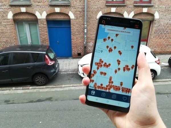 Dunkerque lance une application dédiée aux commerces - Dunkerque lanceert een app om handel te ondersteunen