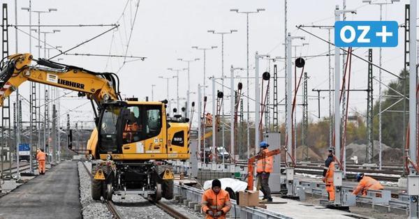 Millionenprojekt am Bahnhof Stralsund: Neue ICE-Serviceanlage fast fertig