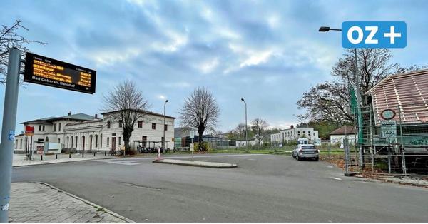 Bauarbeiten in Bad Doberan: So soll der Bahnhofsvorplatz attraktiver werden