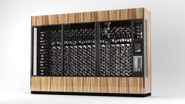 Merlot-M-G! The WineCab Wine Wall is a Robot+AI Sommelier