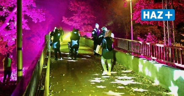 """""""Mühlenberg leuchtet"""": Eine Lichtershow macht Hoffnung in düsteren Tagen"""