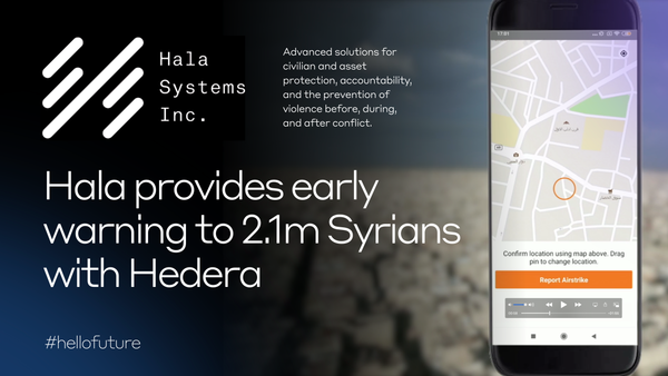Hedera Hashgraph anchors conflict-warning system for Syrians