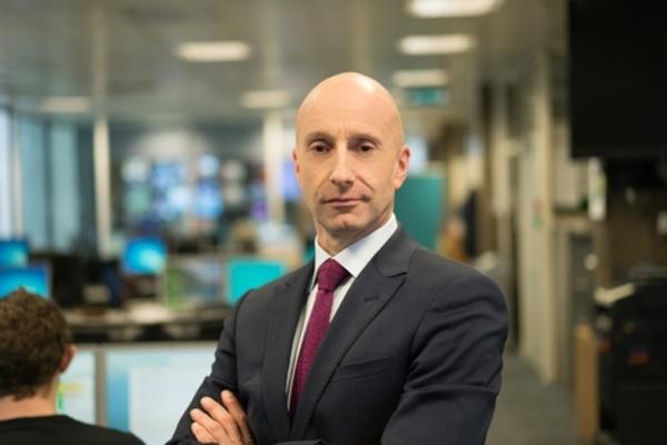 Jon Williams hoofdredacteur RTE News