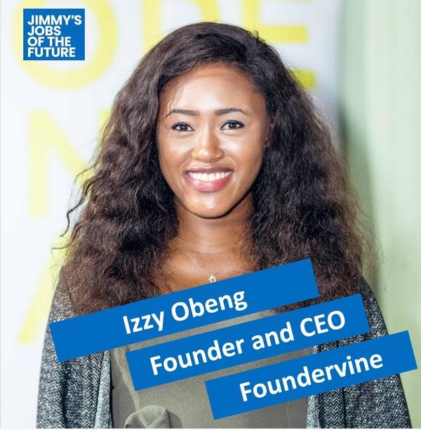 Izzy Obeng, Founder of Foundervine