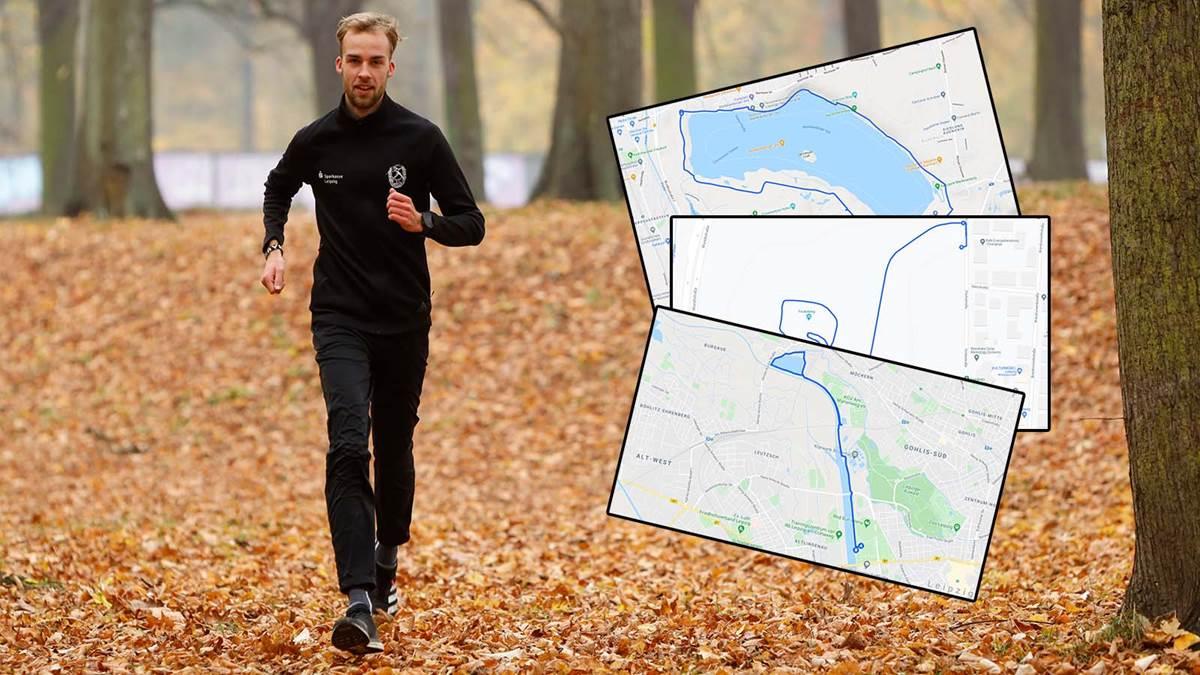 Nic Ihlow trainiert auf verschiedenen Strecken in und um Leipzig. Foto: Dirk Knofe