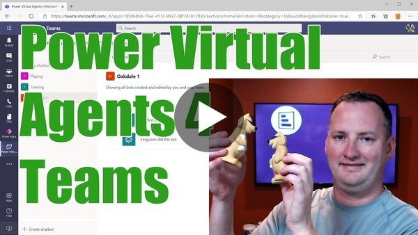 Power Virtual Agents Teams - Build Chatbots with Project Oakdale