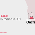 OnCrawl Labs: Anomaly Detection in SEO