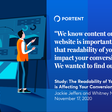 Study: The Readability of Your Website is Affecting Your Conversion Rates