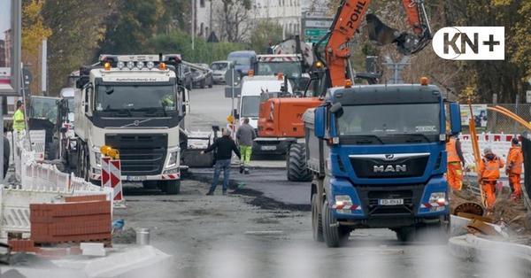 Vorzeitiger Baubeginn am Schusterkrug in Friedrichsort