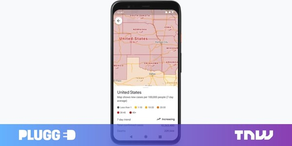 Google Maps will now display number of COVID-19 cases in an area