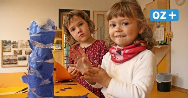 Laternen, Fensterbilder, Brotpapier: Kitakinder basteln den November bunt