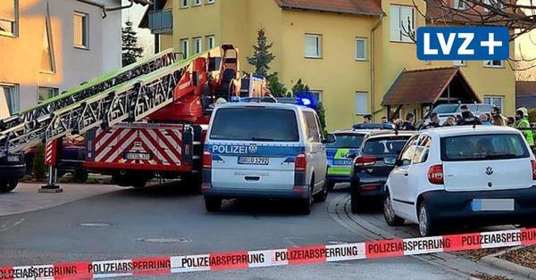 Großeinsatz der Polizei in Delitzsch: Blutüberströmte Frau in Eigenheimsiedlung
