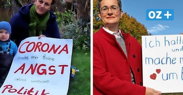 Zwei Corona-Demonstranten aus MV, zwei völlig verschiedene Meinungen – wer hat Recht?