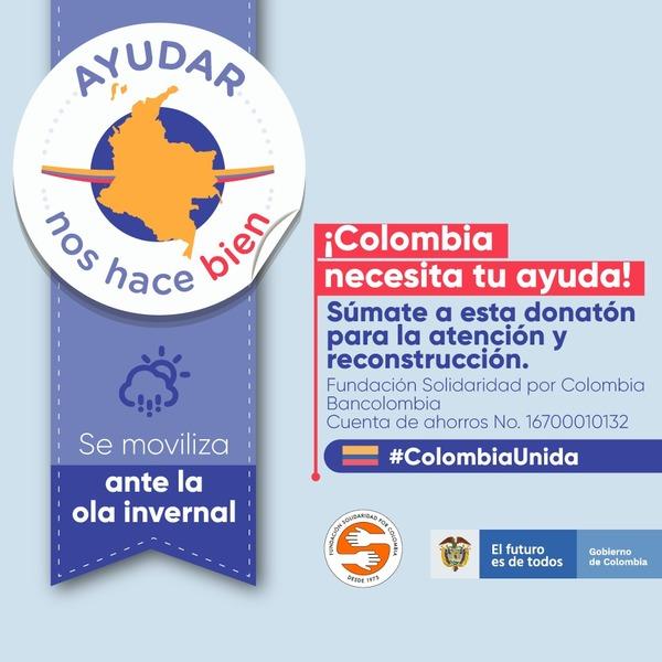 La tecnología financiera logra tener alcances en cada rincón del país 🇨🇴 En este momento Colombia y nuestro archipiélago nos necesita 🙏🏼