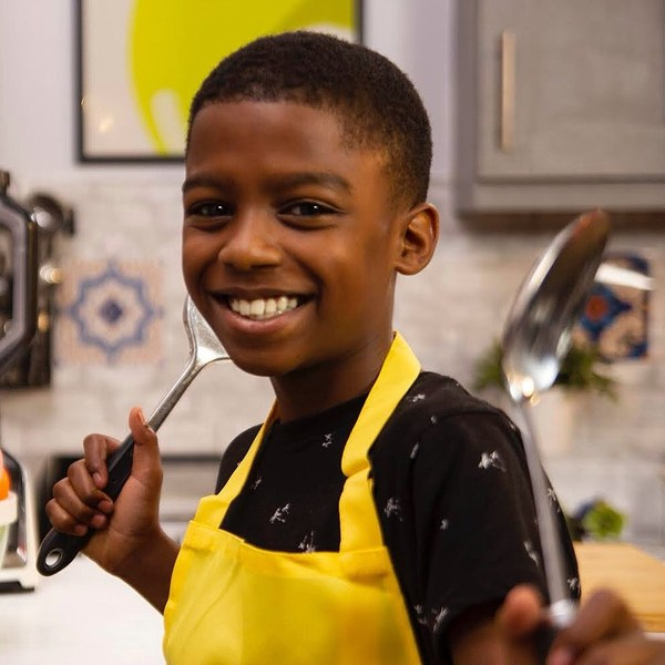 Omari McQueen Becomes the Youngest Chef to Score a TV Show